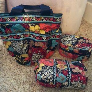 Vera shower caddy, jewelry organizer & makeup bag